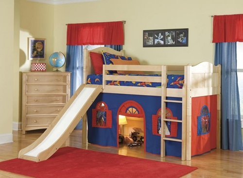 Multi Functional Beds For Small Kids Bedroom