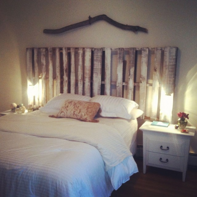My Pallet Headboard I Made This Headboard In A Few Hours