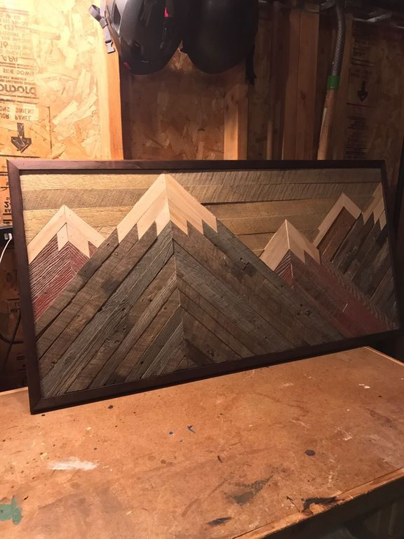 Needed Decor In My House Woodworking Wood Diy Wood