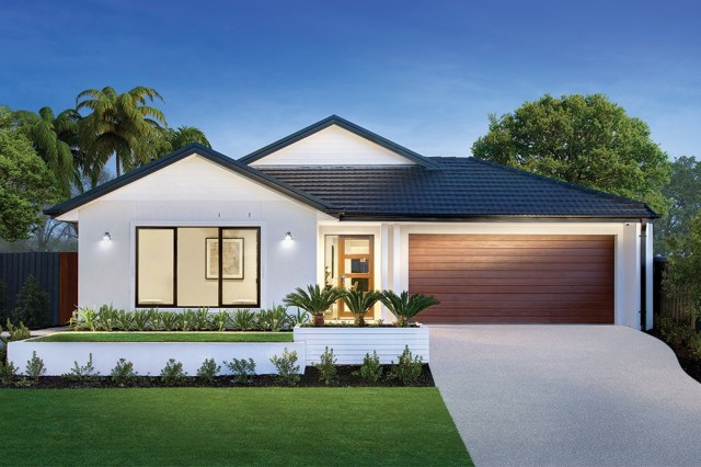 New Home Designs To Build In Melbourne Facade House