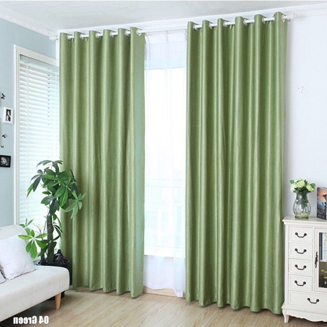 New Modern Blackout Curtains For Window Treatment Blinds