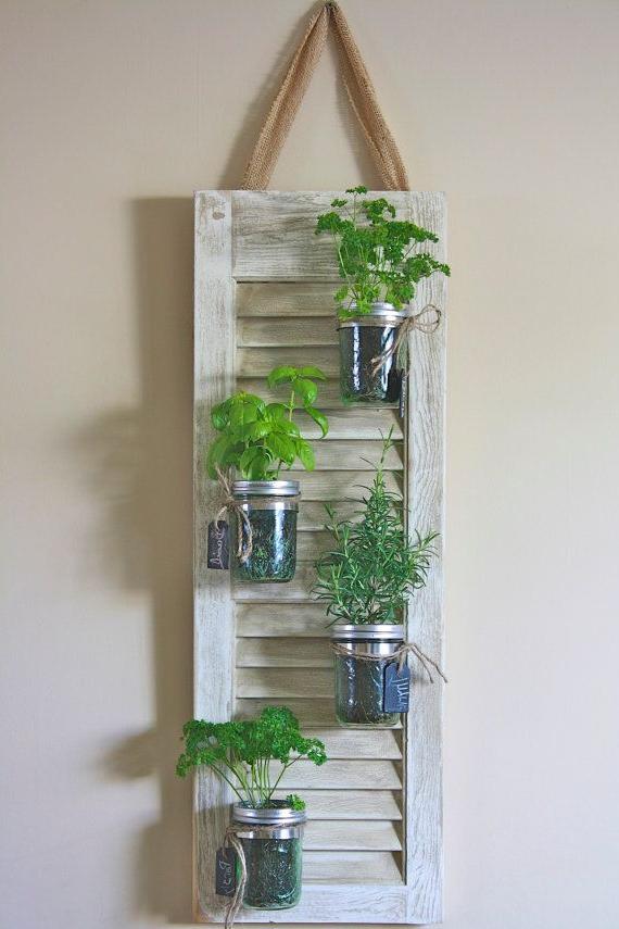 Old Shutter Door Recycle Ideas Diy Project