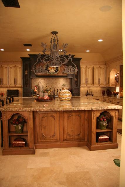 Old World Kitchen Mediterranean Kitchen Oklahoma City Monticello Cabinets Doors