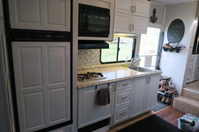 Our 2009 Thor Jazz Fifth Wheel Kitchen Remodel Rv