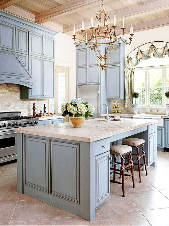 Our Ultimate Kitchens Farmhouse Kitchen Cabinets Blue