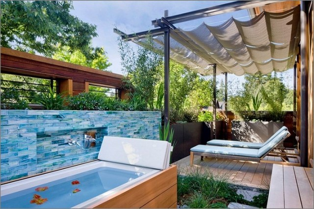 Outdoor Spa Ideas For Your Home Inspiration And Ideas