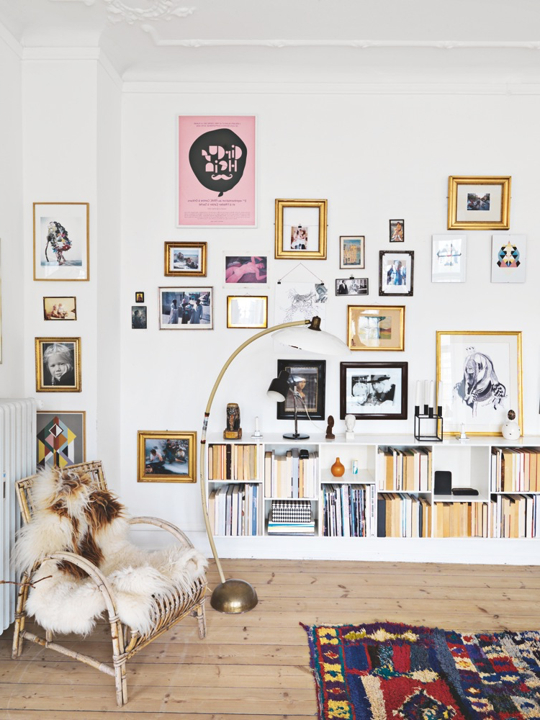 Over The Top Gallery Walls 10 Wall Parties That Prove