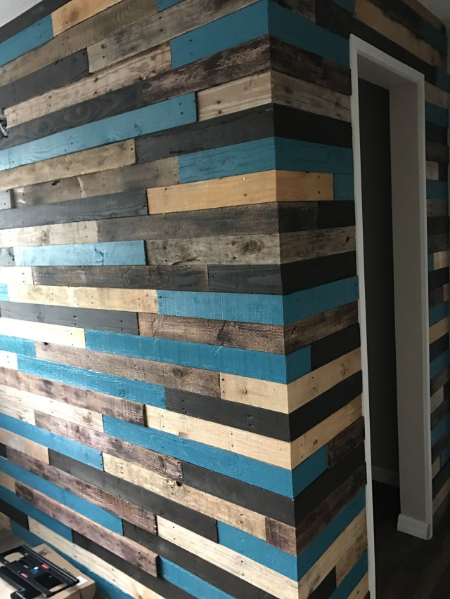 Pallet Wall Complete Pallet Wall Decor Wood Pallet Wall Pallet Walls