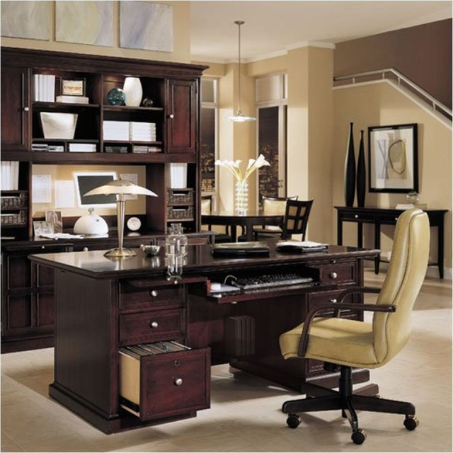 Perfect Your Office Look With Modular Desk Component For
