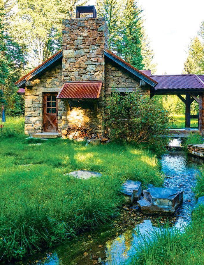 Pin A Latte On Dream Cabins Stone Cottage Stone