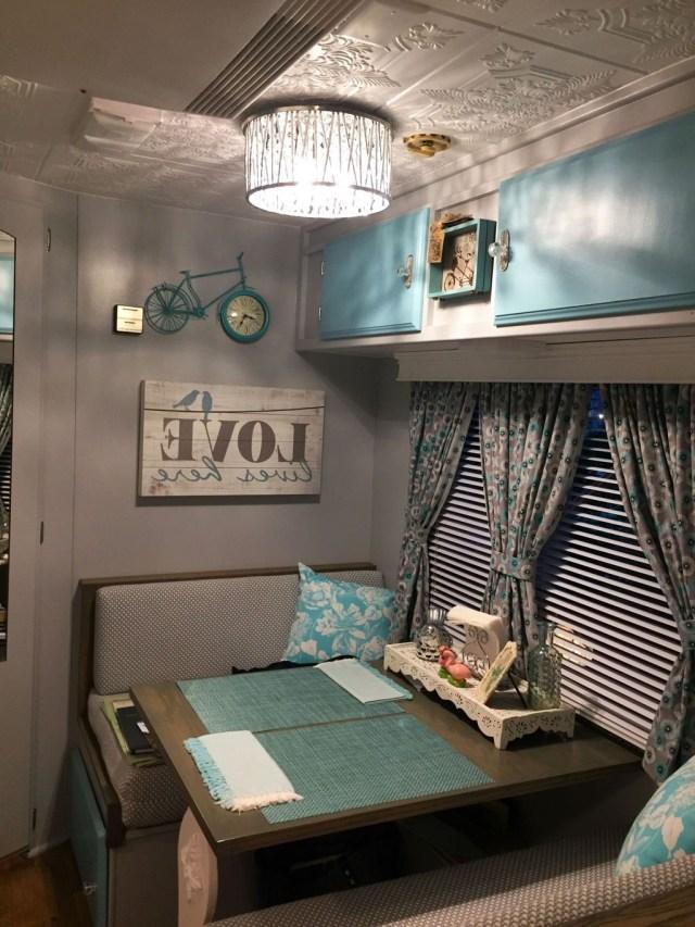 Pin Homishome On Interior Design Remodeled Campers