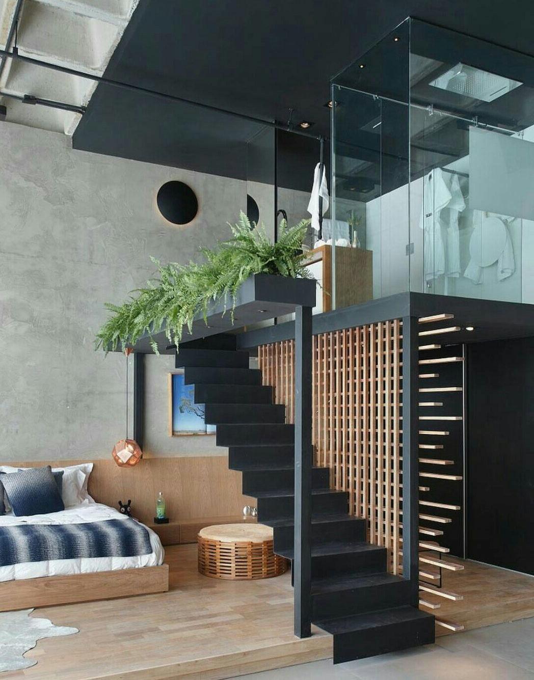 Pin Liz Mulgrew On Lofts Loft Interiors Staircase