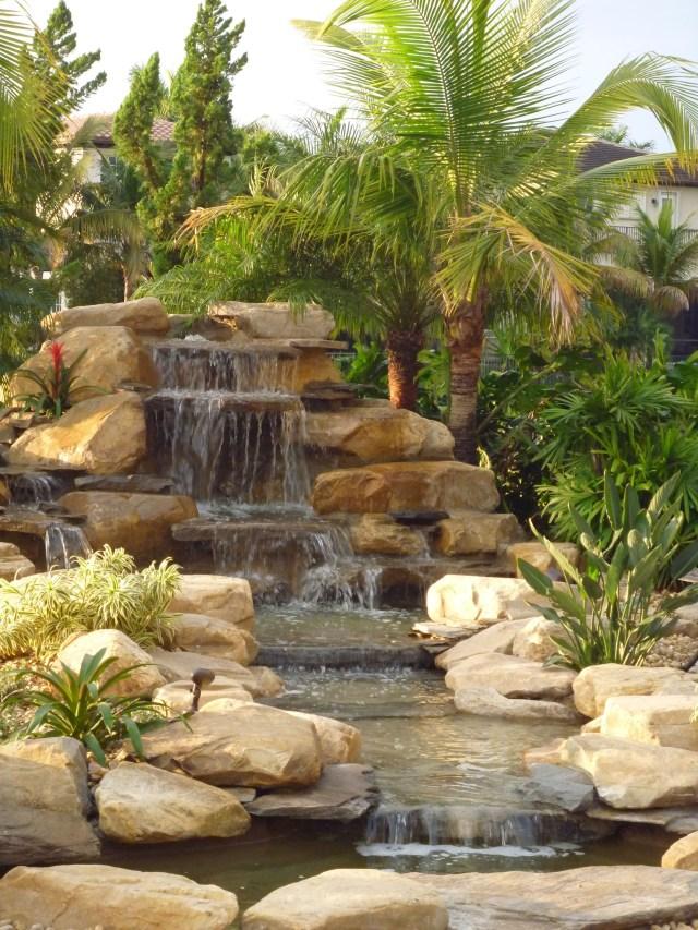 Pin On Backyard Waterfalls Waterfalls Fountains