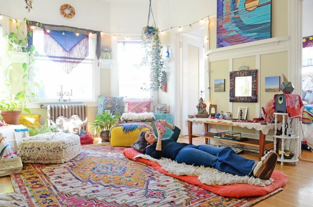 Pin Popular Trends On Home Ideas Hippie Living Room