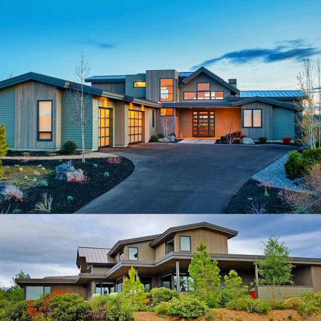 Plan 54224hu Gabled Entry Mountain Modern House Plan
