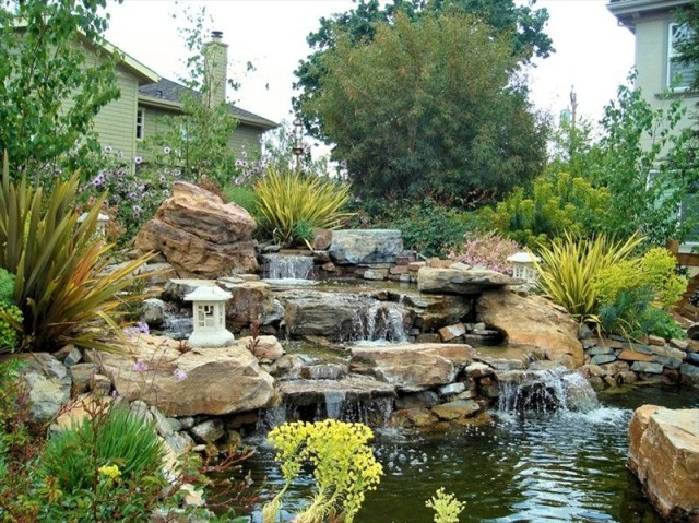 Pond Waterfall Designs Pictures Castro Valley Landscape
