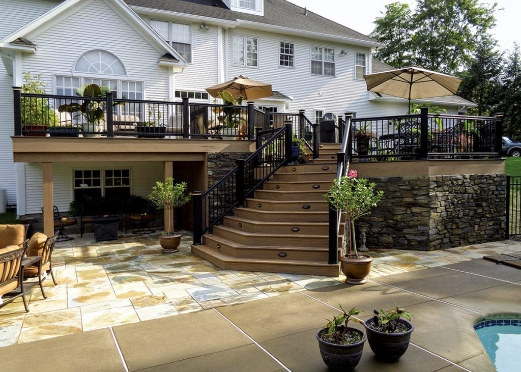 Pool Deck Ideas Decking Ideas Designs For Inground Pools