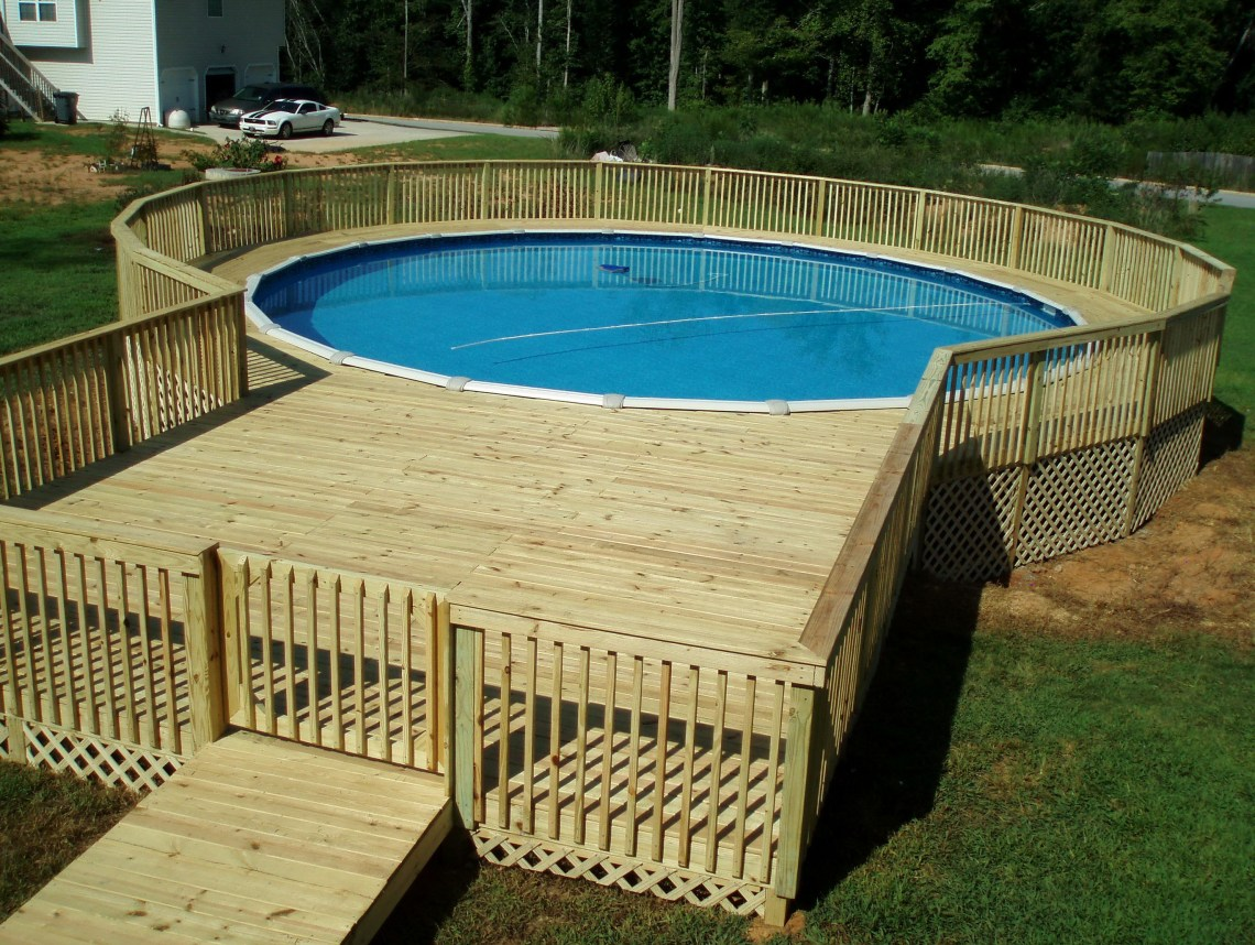 Pool Deck Plans Above Ground Pool Deck Plans Wood Pool