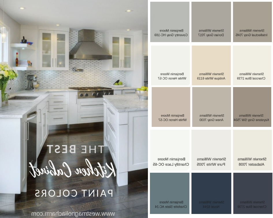 Popular Kitchen Cabinet Paint Colors West Magnolia Charm