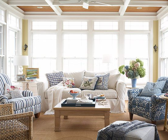 Porches Sunrooms Sunroom Decorating Cozy House Home