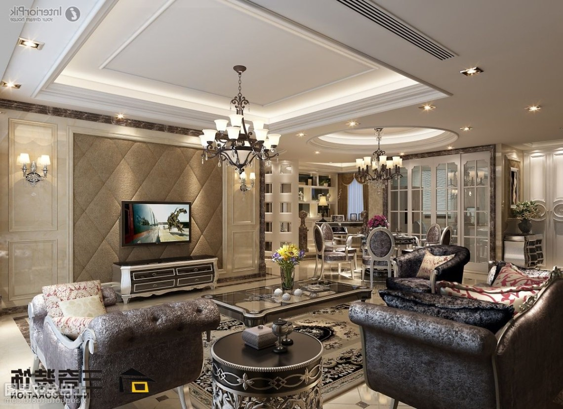 Portrayal Of Luxury Designs For Living Room Luxury