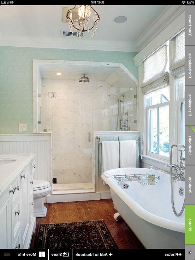 Possible Bathroom Idea With A Shower Clawfoot Tub