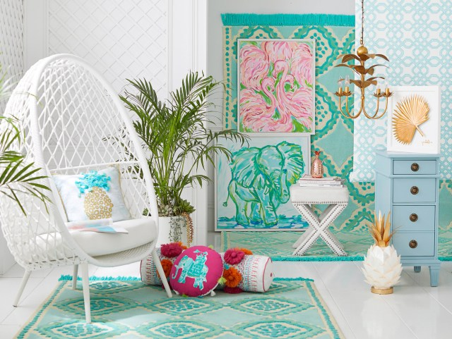 Pottery Barn Lilly Pulitzer Home Line Launch March 2018