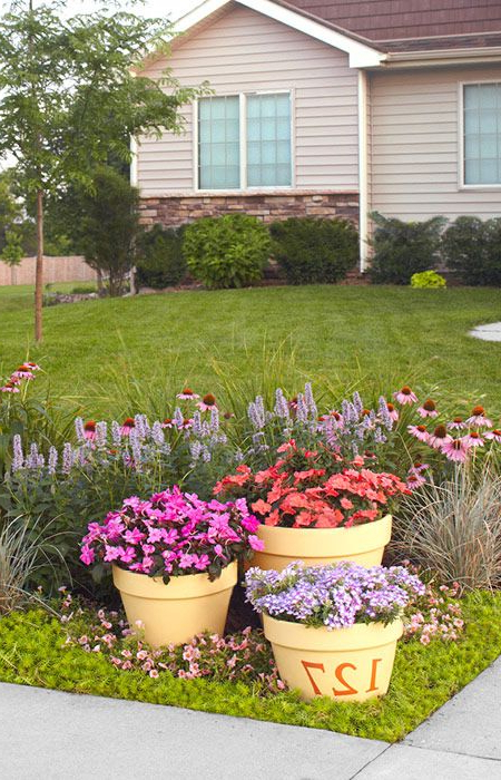 Put A Colorful Garden To Work In Your Front Yard Bright