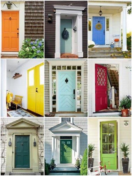 Rainbow Color Front Doors So Many Pretty Colors I