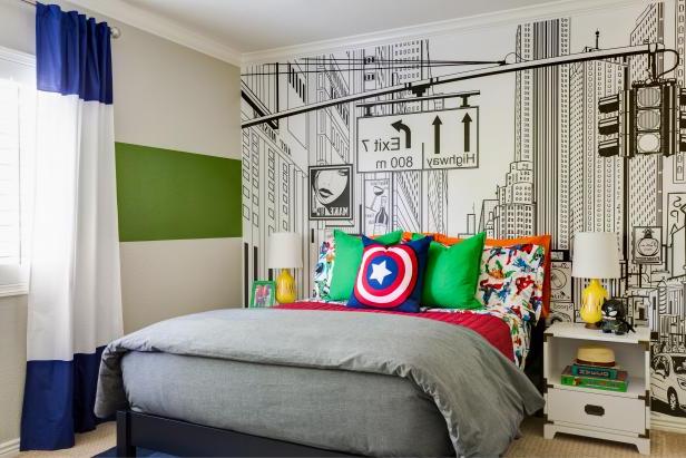 Retro Inspired Kid Bedroom Ideas Hgtvs Decorating