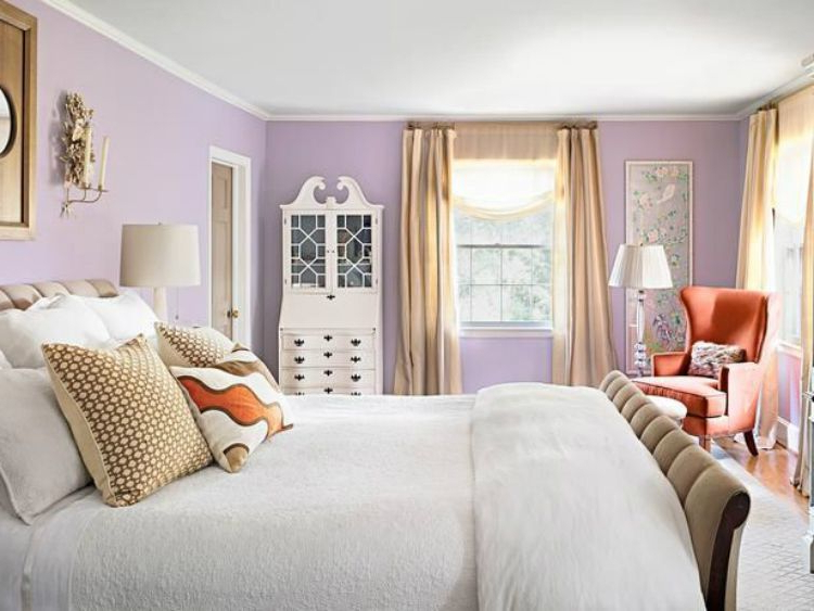 Romantic Or Modern Lilac In Contemporary Interior Design