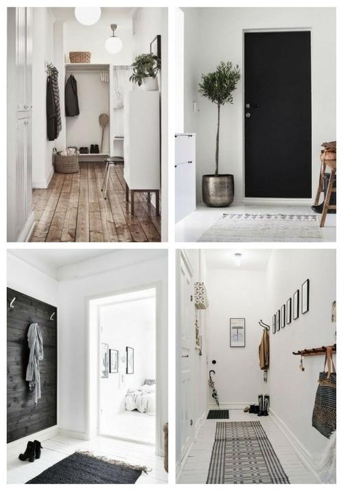 Scandinavian Inspired Entryway Decor Comfydwelling