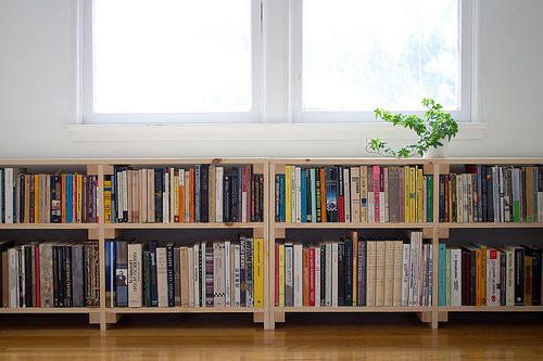 Several Concept Of Under Window Bookcase At Your Bedroom
