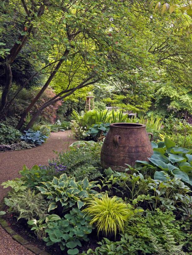 Showy Shade Garden Ideas Shade Garden Beautiful Gardens