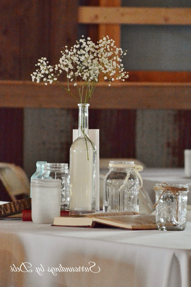Simple Diy Rustic Wedding Table Decor