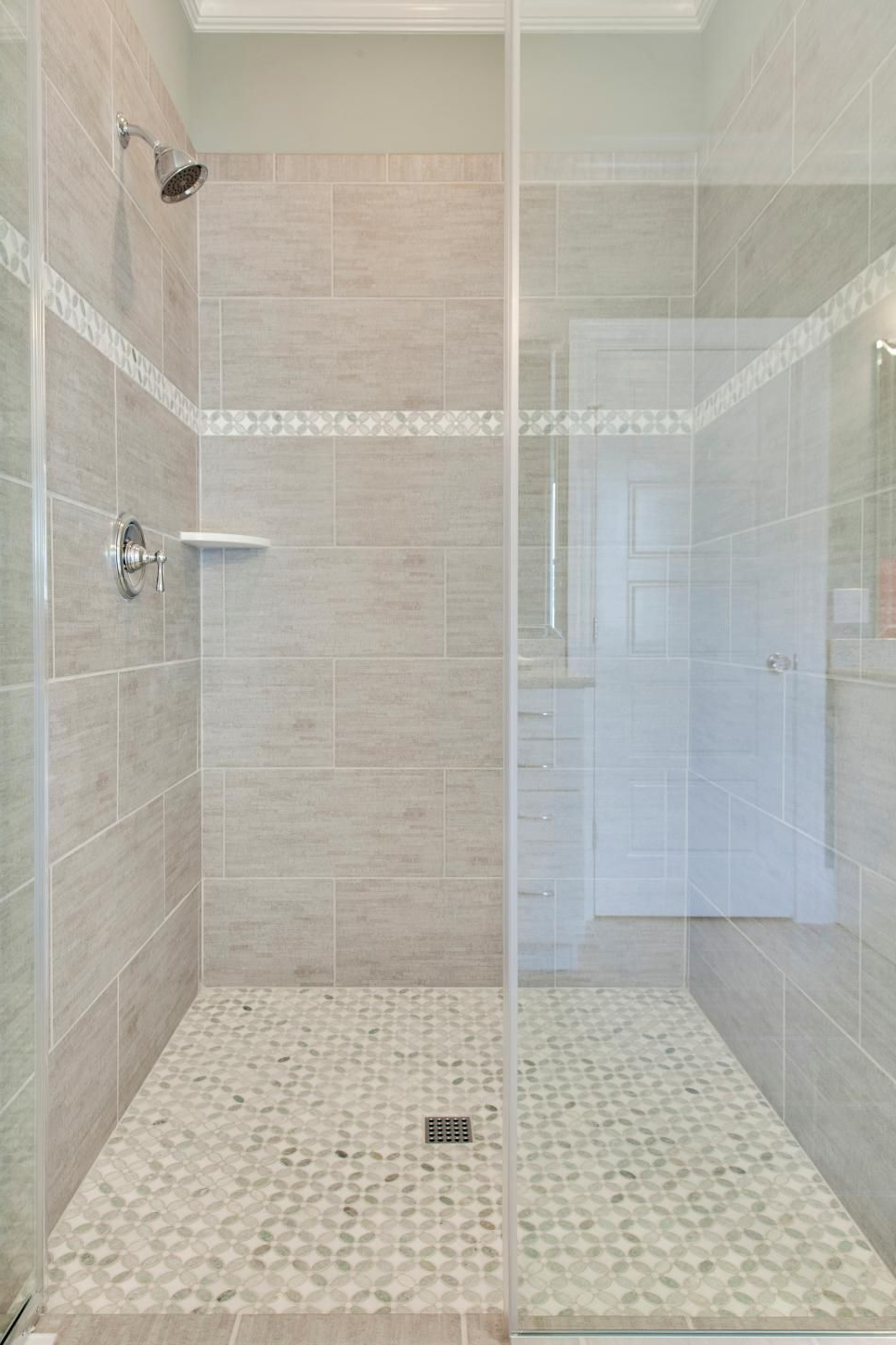 Simple Hot Chocolate Three Ways Gray Shower Tile