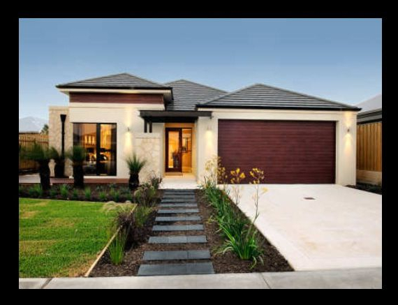 Simple Modern Front Yard Layout Would Change Choice Of