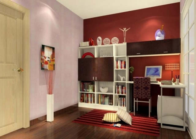 Simple Office Wall Color Combinations Paint For Small