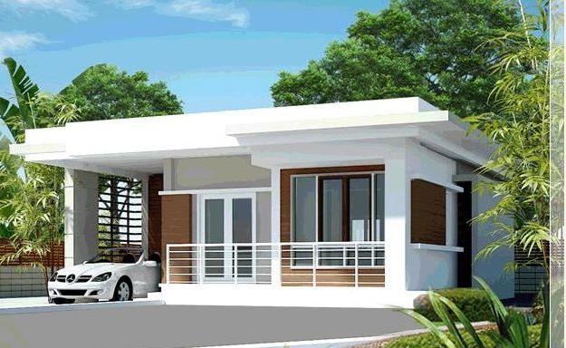 Simple Residence Modern House Philippines Modern