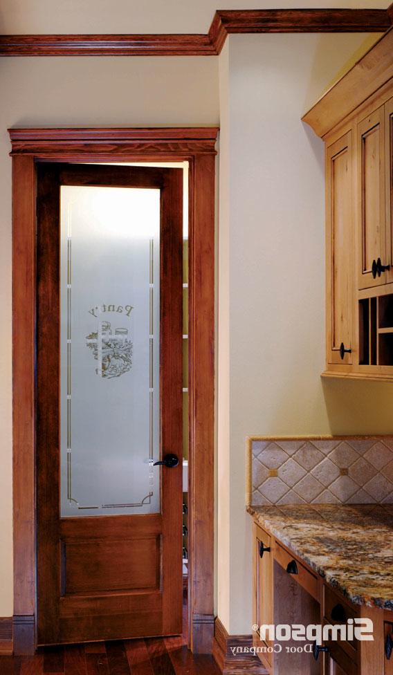 Simpson Pantry 1590 Shown In Douglas Fir 80 Door