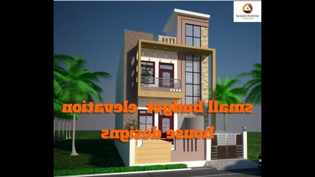 Small Budget Elevation House Designs For House Plans Top