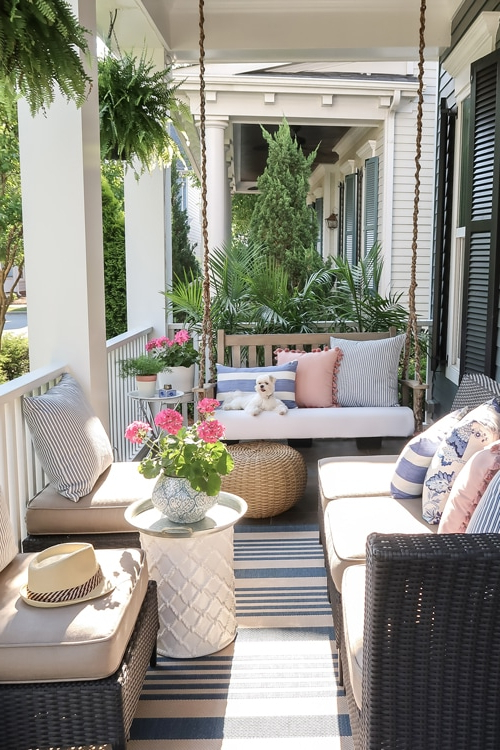 Small Front Porch Decorating 6 Unique Ideas For Summer