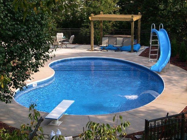 Small Inground Pool Small Backyard Pools Swimming Pools