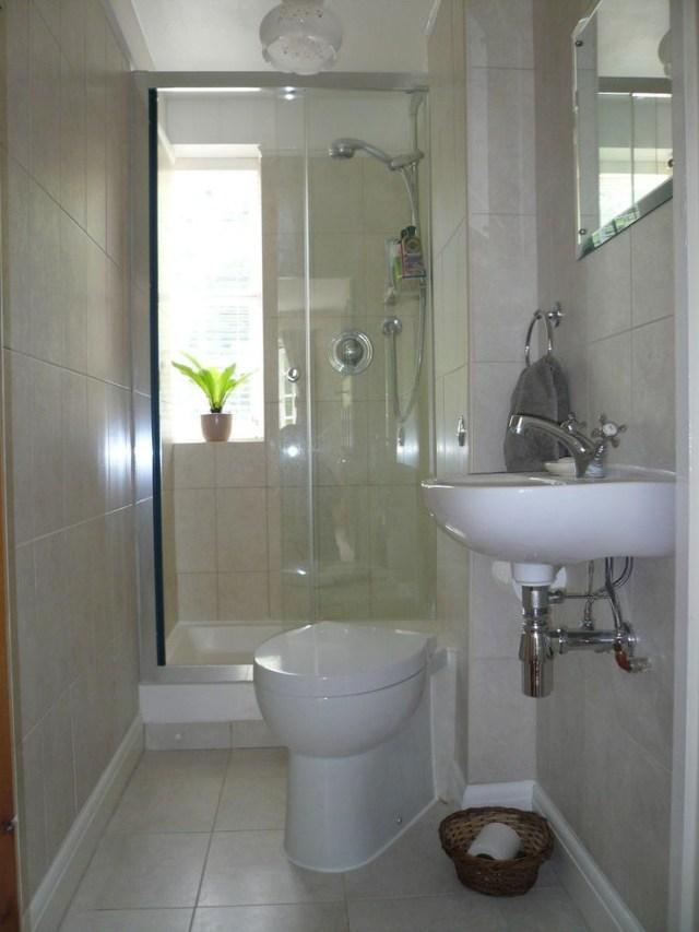 Small Shower Room Long Narrow Bathroom Tiny House