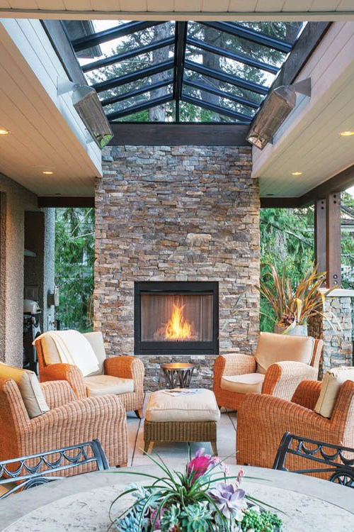 Some Ideas To Brighten Your Homes Veranda Patio Design