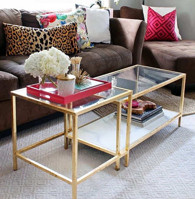 Splurge Or Save Glass Coffee Tables With Images Ikea