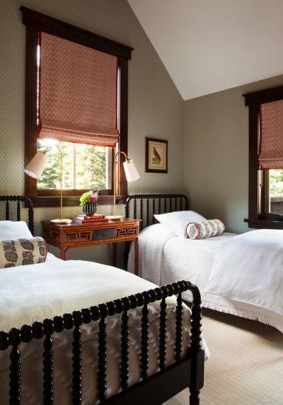 Spool Beds Traditional Bedroom Remodel Bedroom