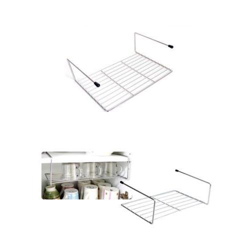 Stainless Steel Sink Under Or Top Shelf Dish Rack Kitchen