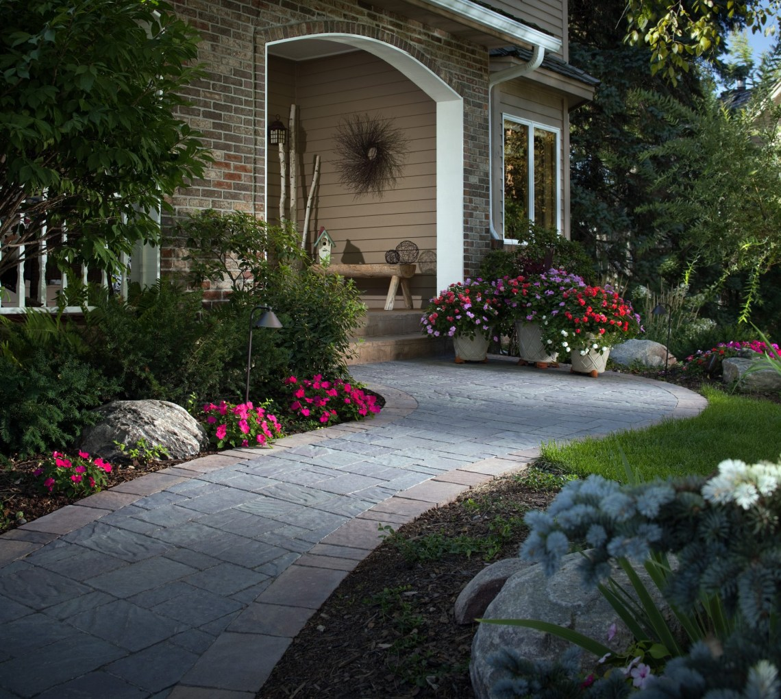 Stone Pathways Stepping Stone Walkway Ideas Designs
