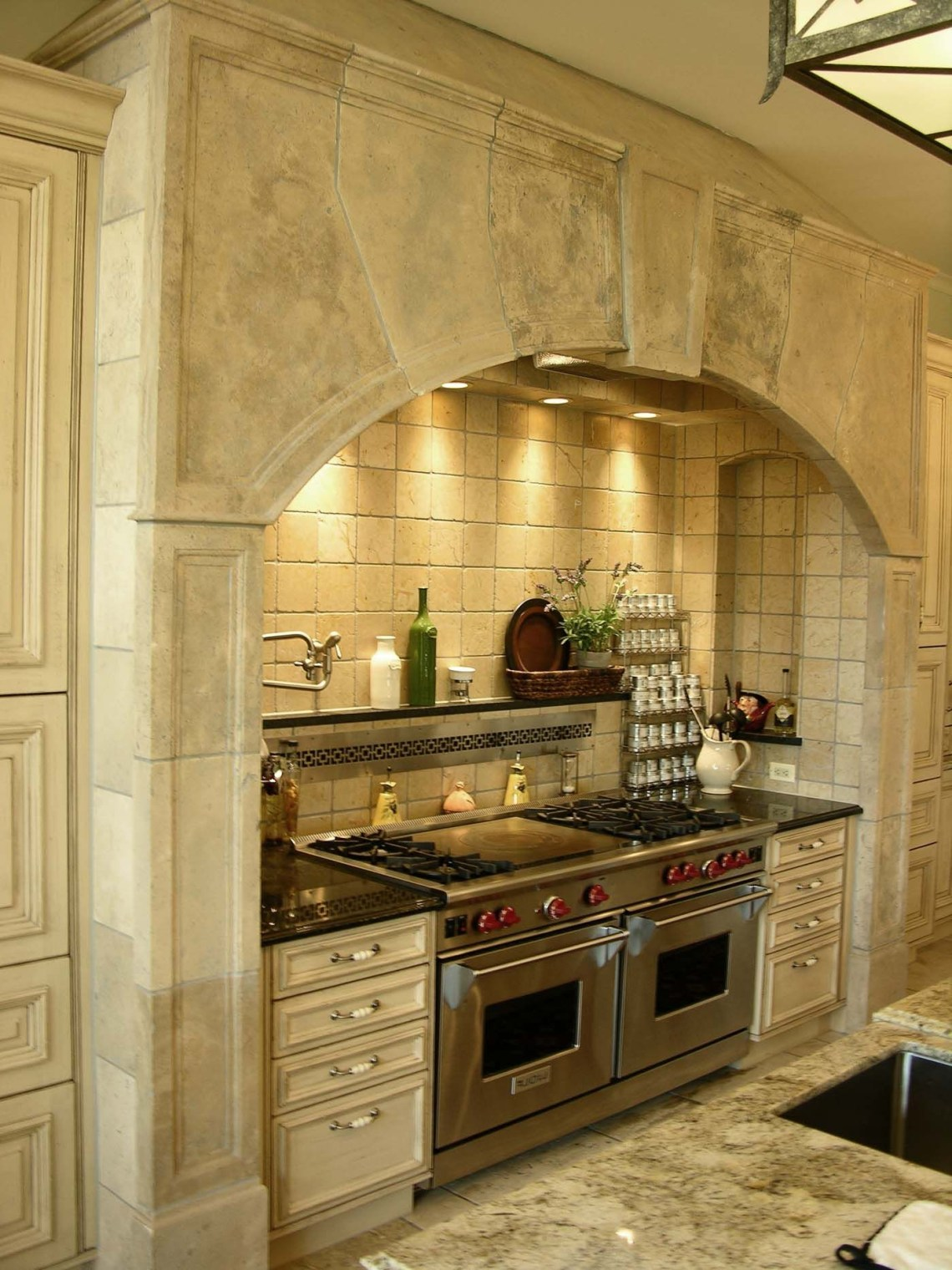 Stone Range Hoods Kitchen Hearth 527 Materials